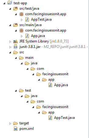 Maven Java Console Project