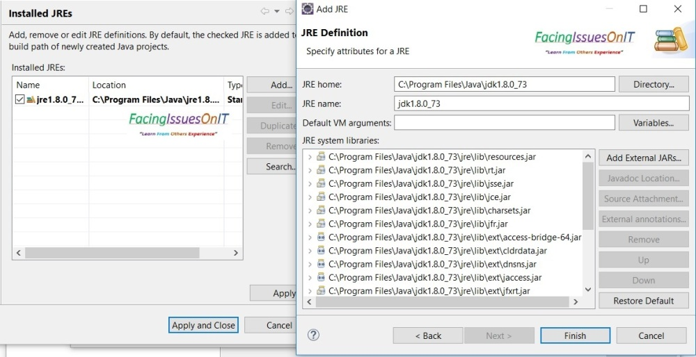 Eclipse ClassPath Setting 3