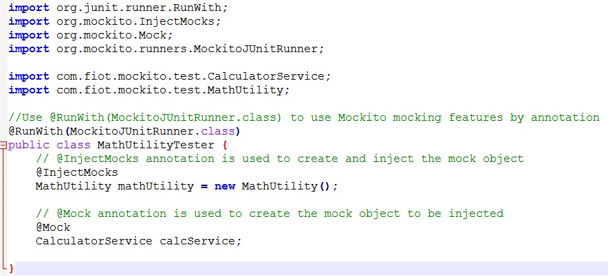 Mockito Mock Object by Annotation