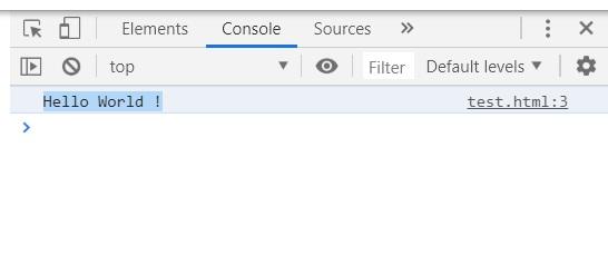 Java script debug