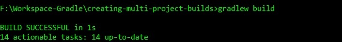 Gradle multi project build after include sub project